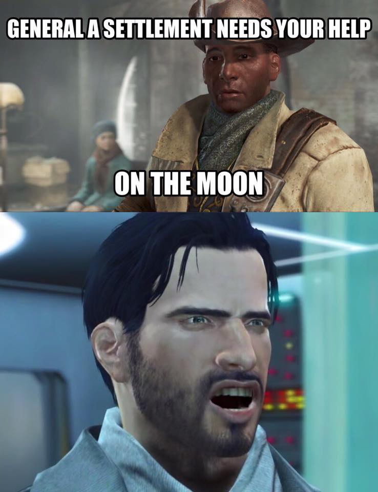 preston garvey, arguable the most annoying fallout character ever