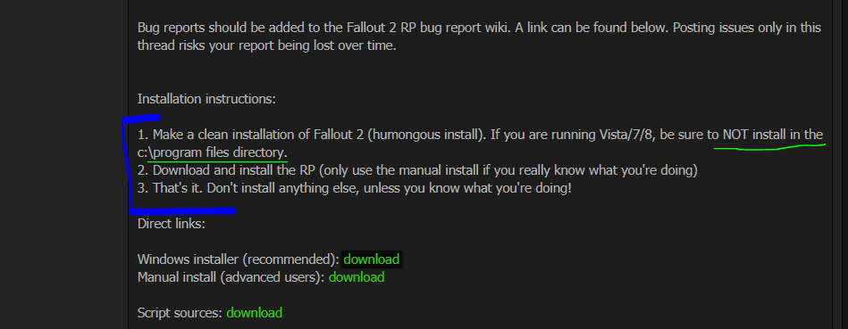 Need Help To Run FALLOUT 1 & 2 on WIN 10 (Don't know