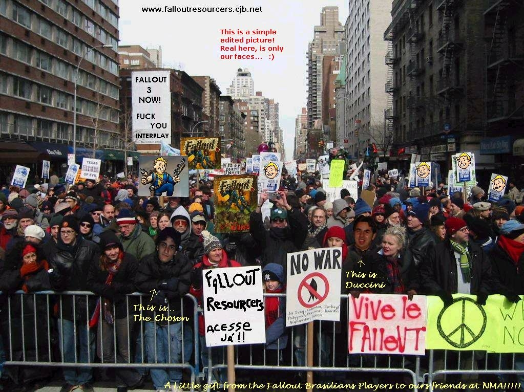 Protest for Fallout 3