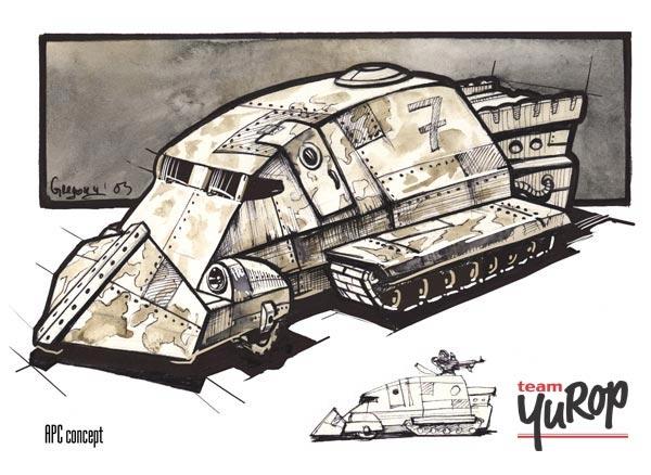 Armoured APC