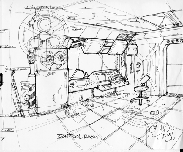 Vault Control Room