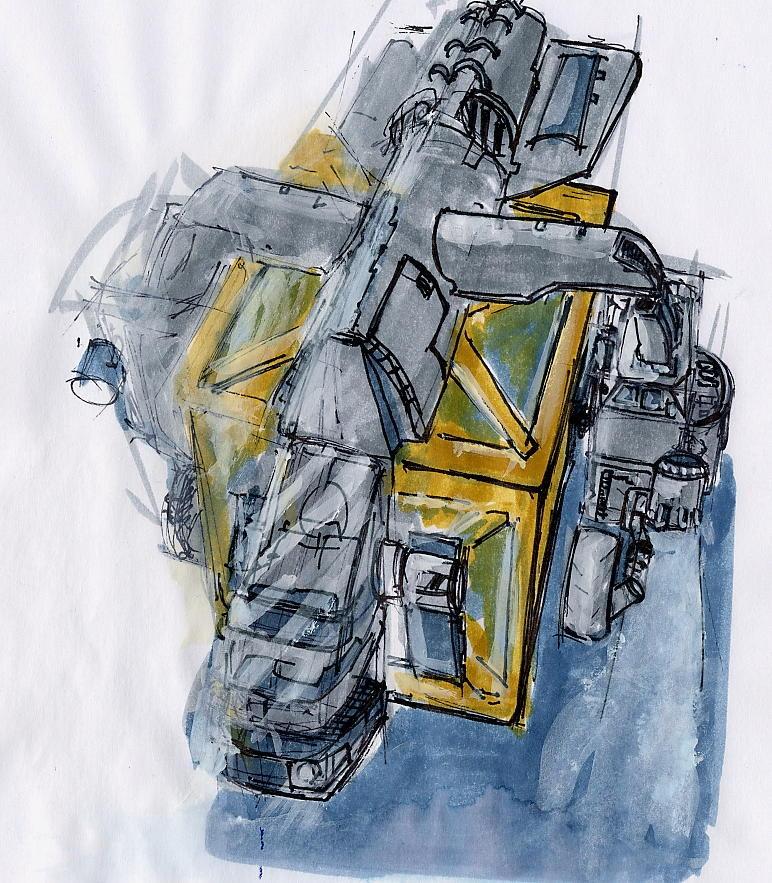 Jump Transporter concept art