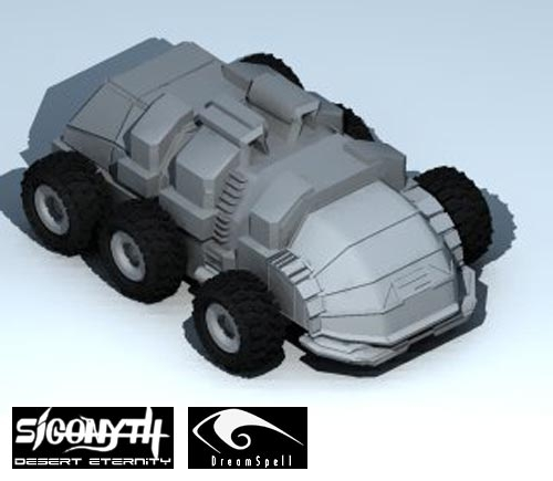 Sigonyth and one of vehicles