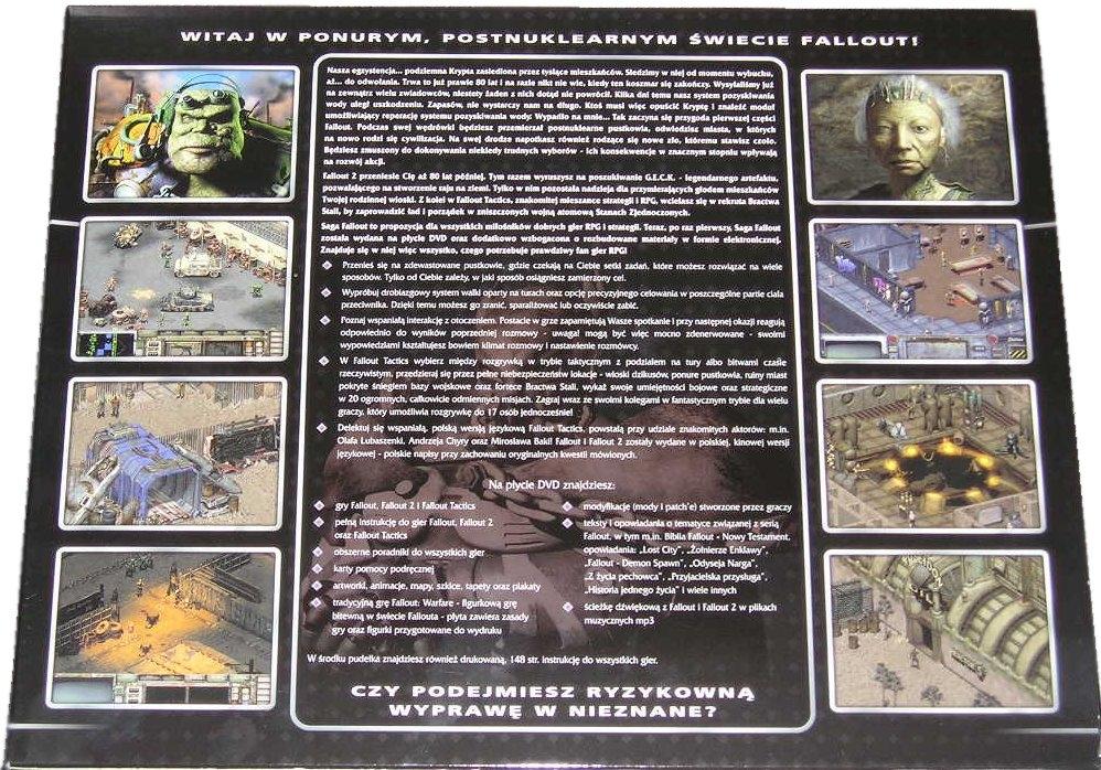 Fallout Saga DVD description