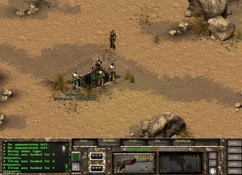 Desert hole