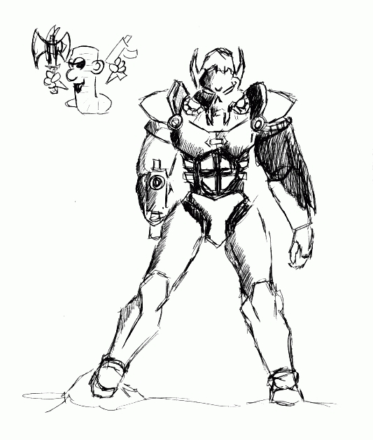 Armour Conversion Concept Art