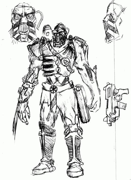 Borg Concept Art