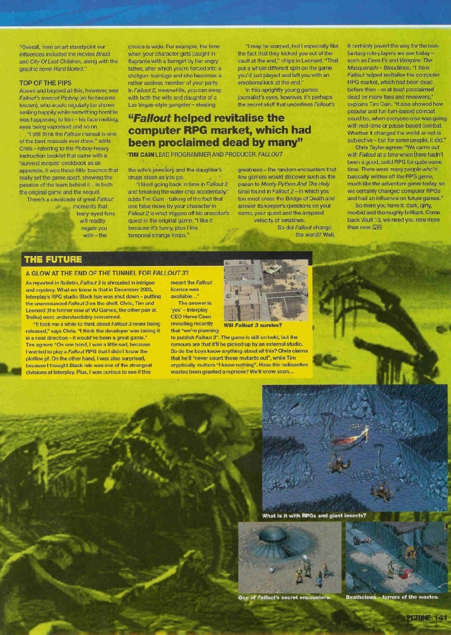 PCZone Fallout Feature Page 4
