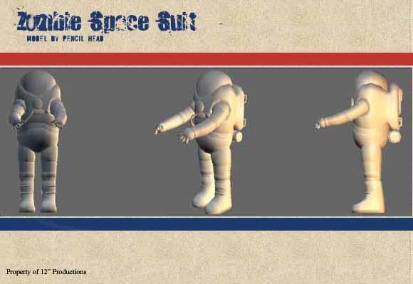 Zombie Spacesuit