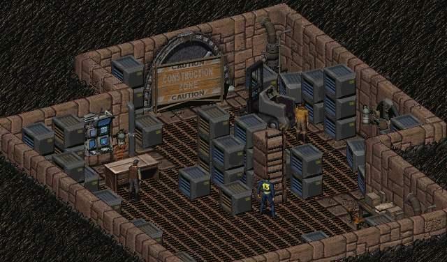 New Arroyo - Underground Storeroom