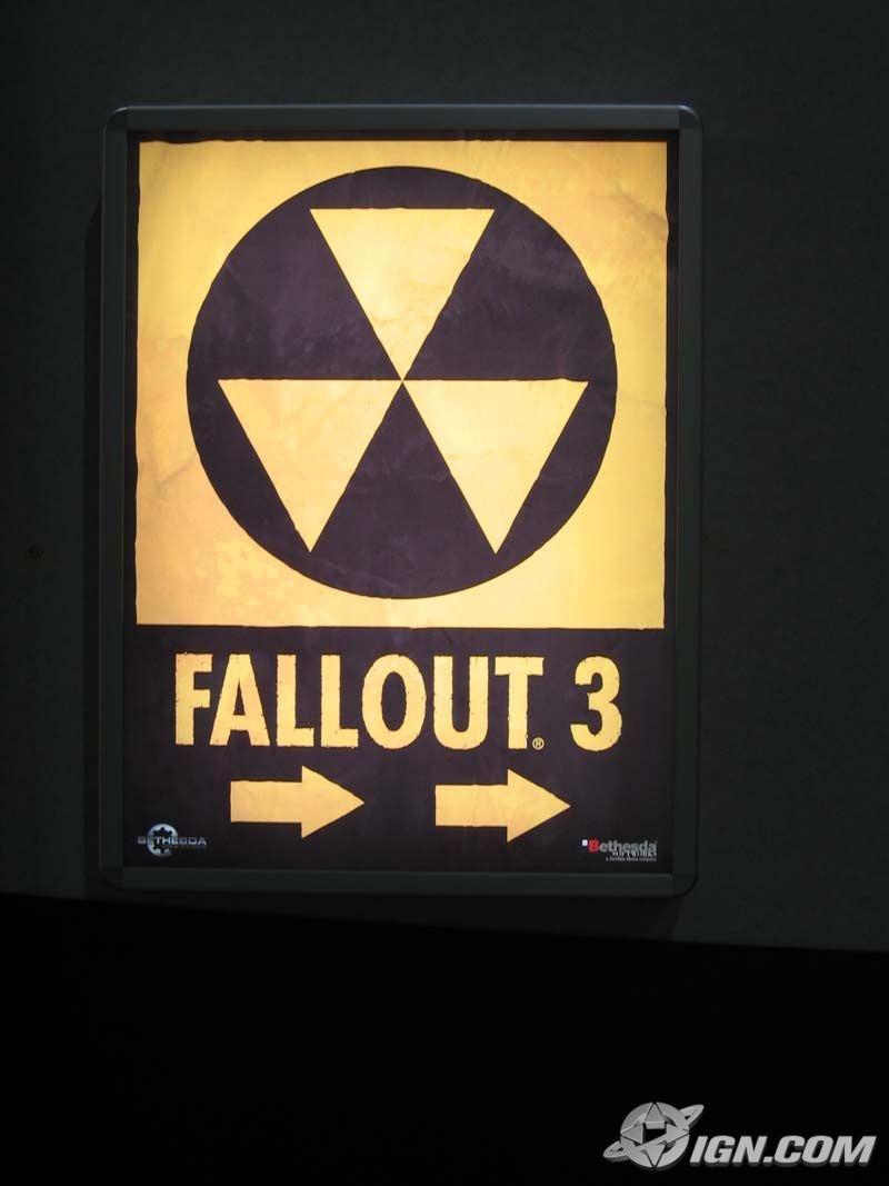 Fallout 3 Poster at E3