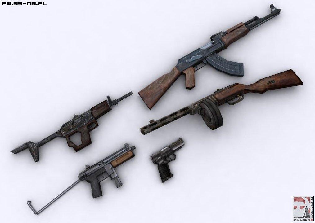 NMA exclusive - Polish Wasteland guns