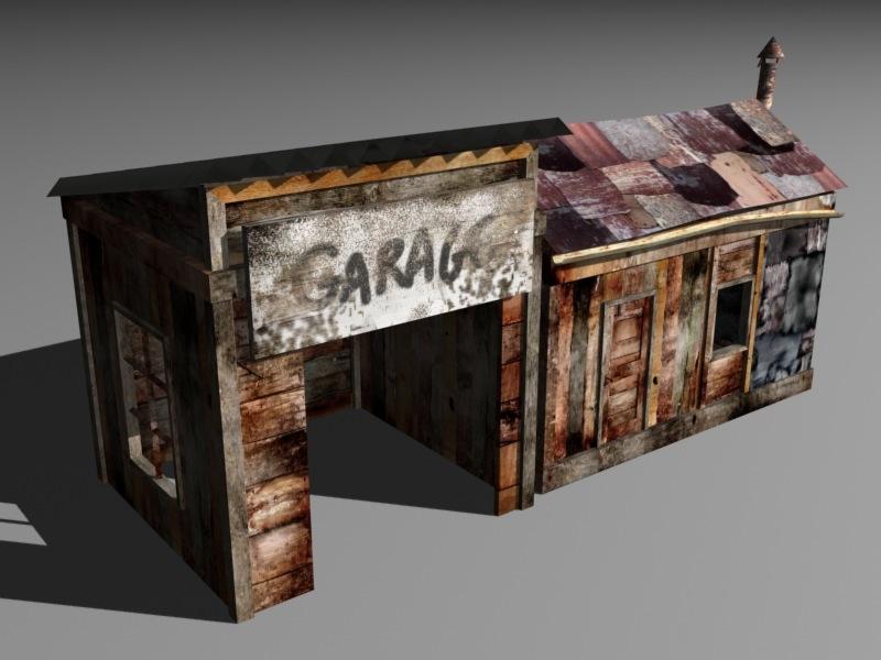 Misleading Lands - Garage model