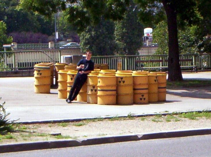 Barrels in Vienna