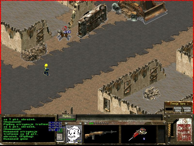 Screen z Projekt FallSys2