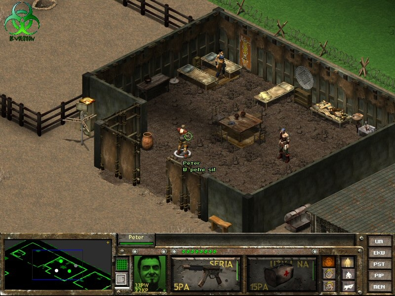 Revolution - screen