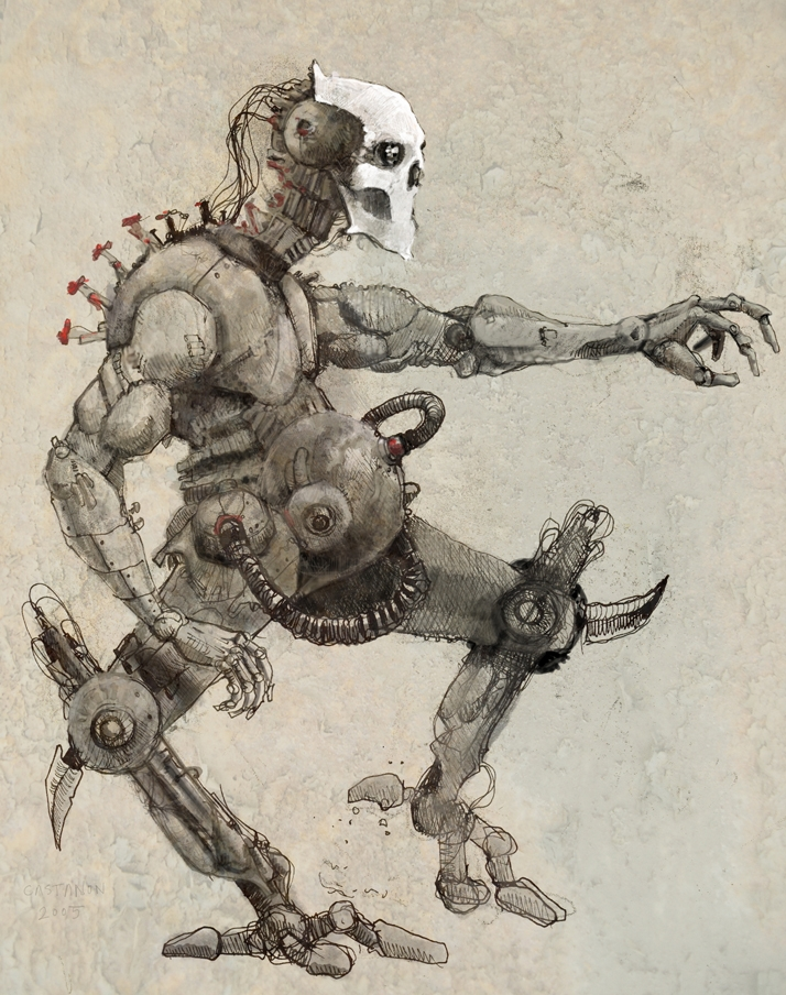 Cyborg concept #1