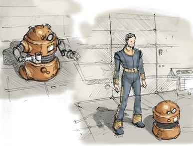 Outcome Concept Art - Robots