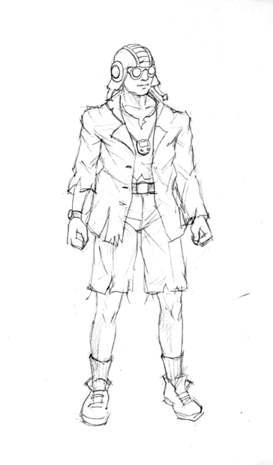Outcome Concept Art - NPC