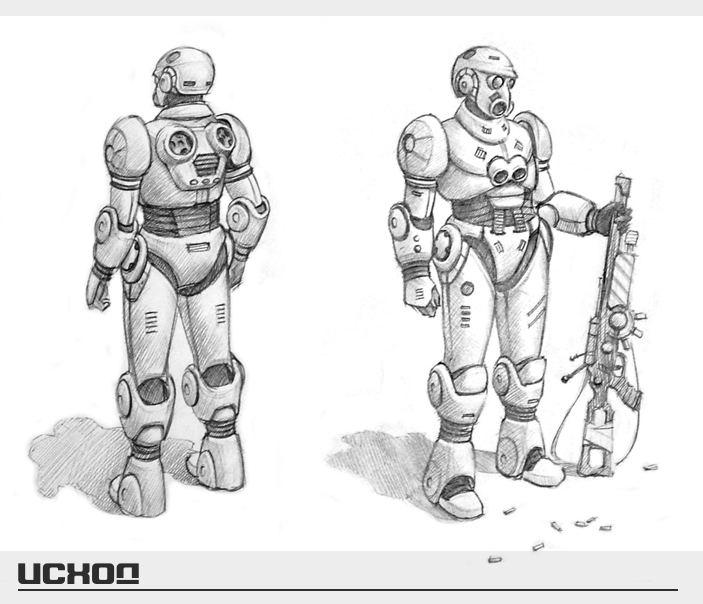 Outcome Concept Art - Soldier