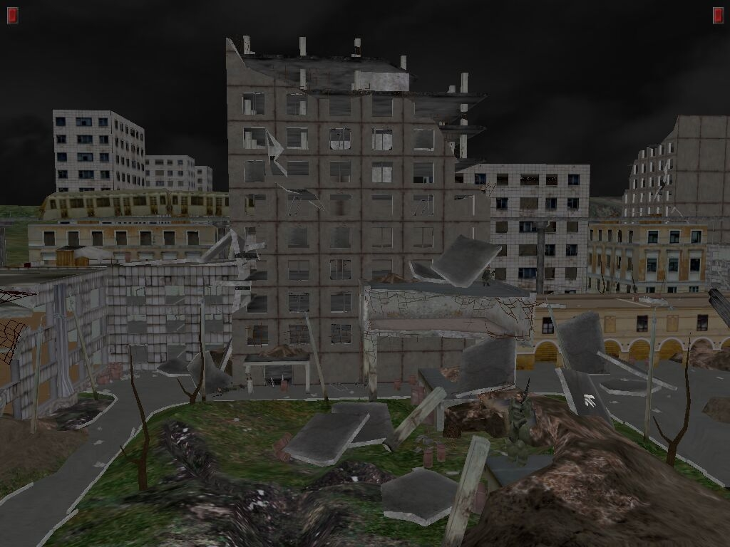Outcome Render - City View