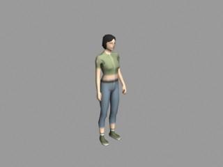 Outcome Render - Female NPC