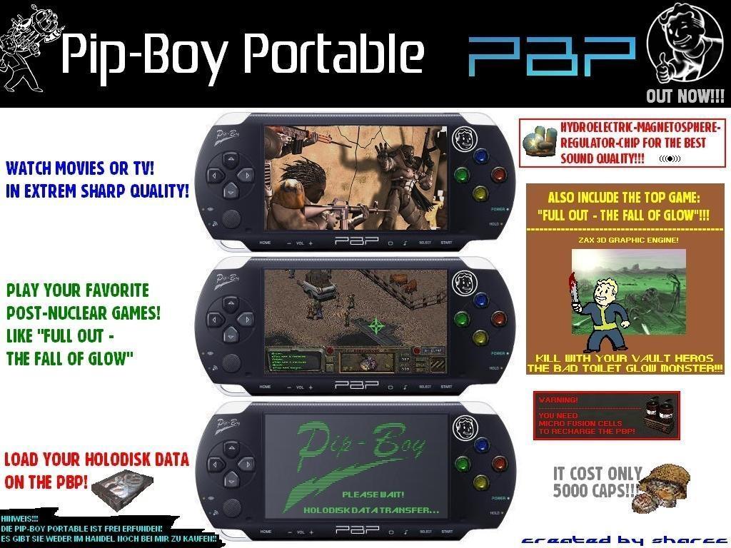 PipBoy Portable