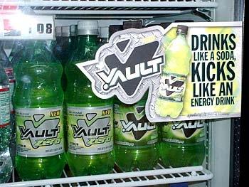 Vault and Vault Zero Soft Drinks