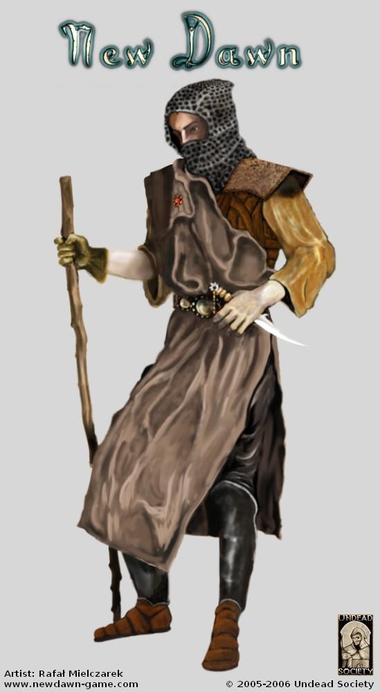 New Dawn Concept Art - Journeyman 1