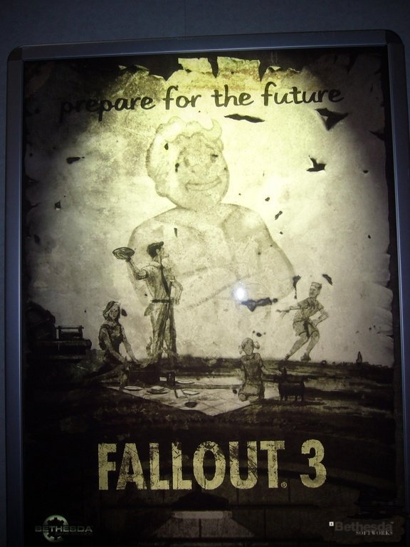 Fallout 3 Poster from E3