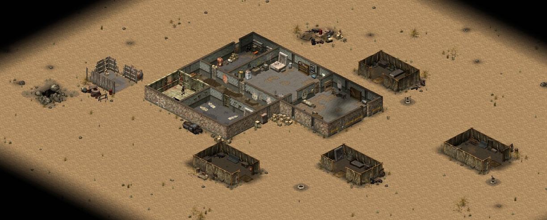 Fallout > Tactics - Khan Camp