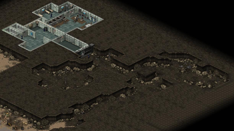 Fallout > Tactics - Vault 13 Caves