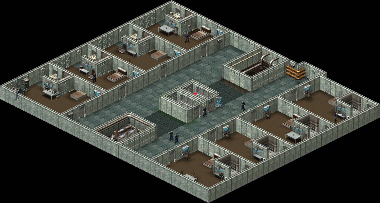 Fallout > Tactics - Vault 13 Quarters