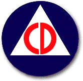 U.S. Civil Defense logo