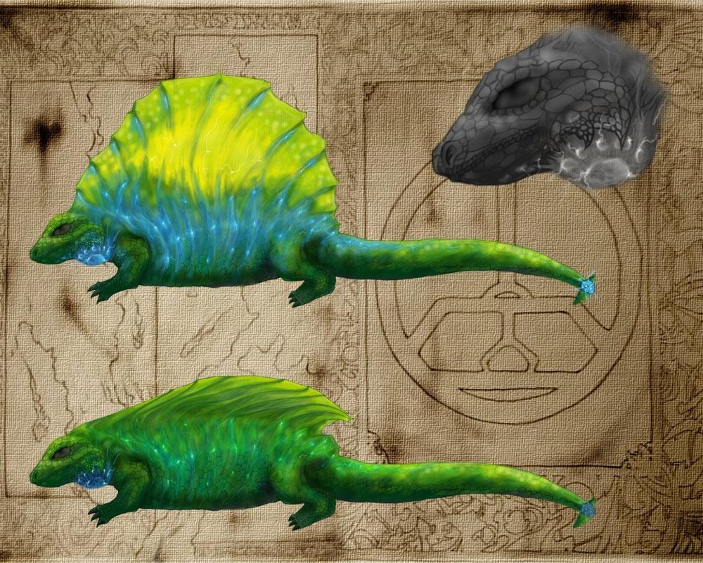 New Dawn Beast - Giant Reptile