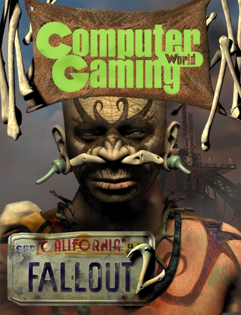 Fallout 2 promotional material