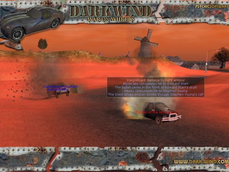 Darkwind Combat System
