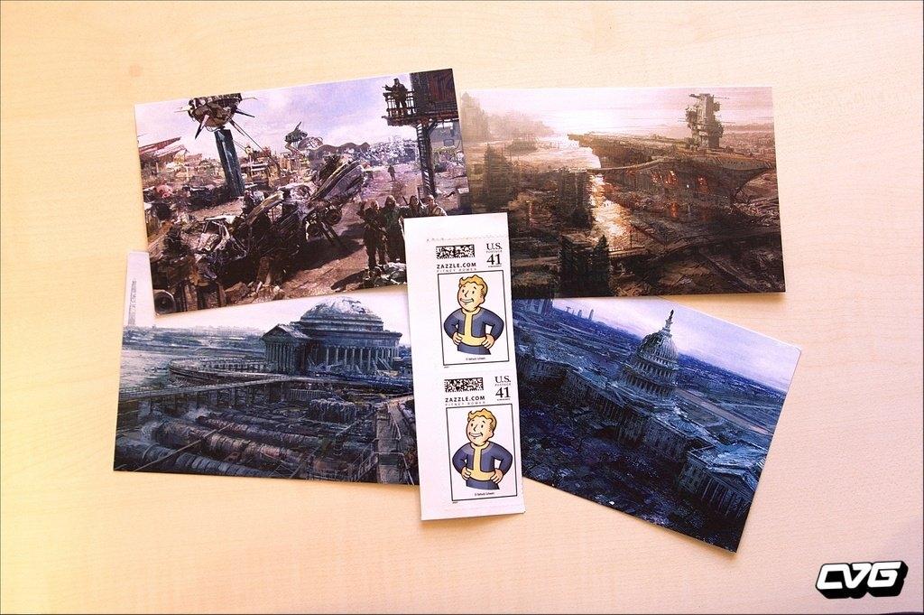 Fallout 3 Postcards
