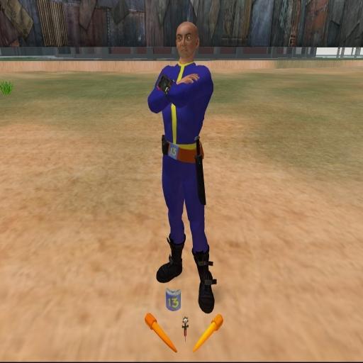 Second Life Vault Dweller Adventure Pack