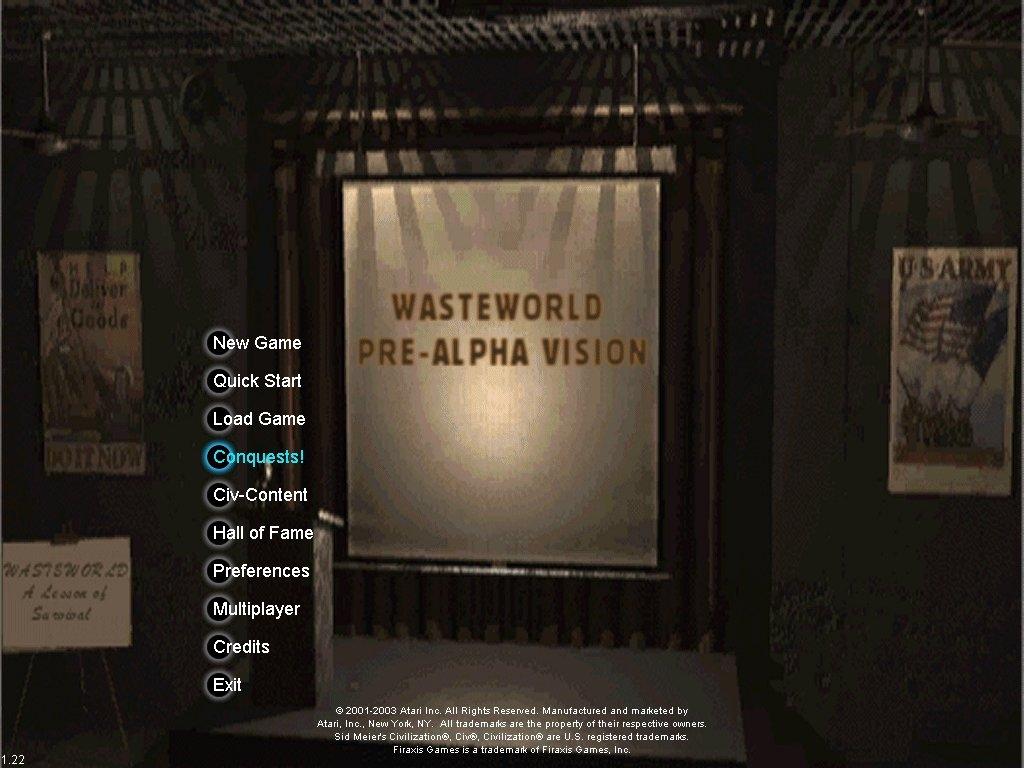 Wasteworld Pre-Alpha