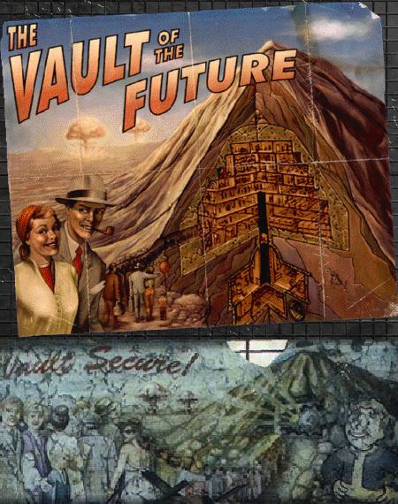 Vault poster comparison for Fallout 3
