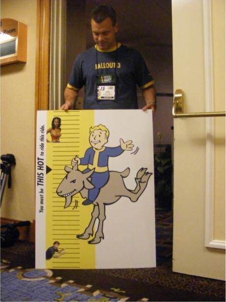 Bethesda's 2007 E3 Party Sign