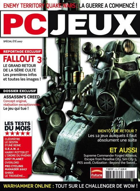 PC Jeux Fallout 3 France