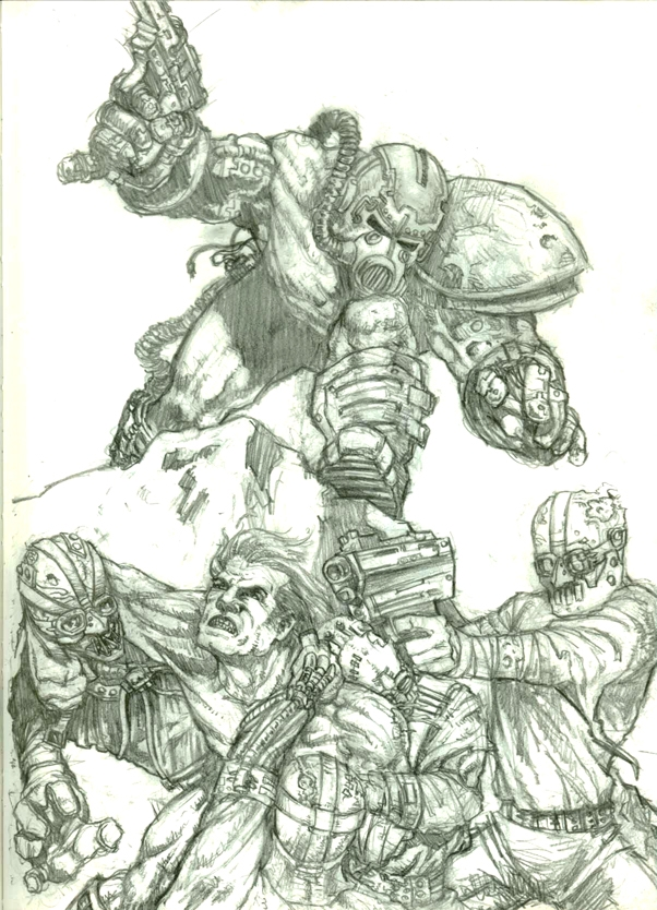 Fallout Tales #2 sketch