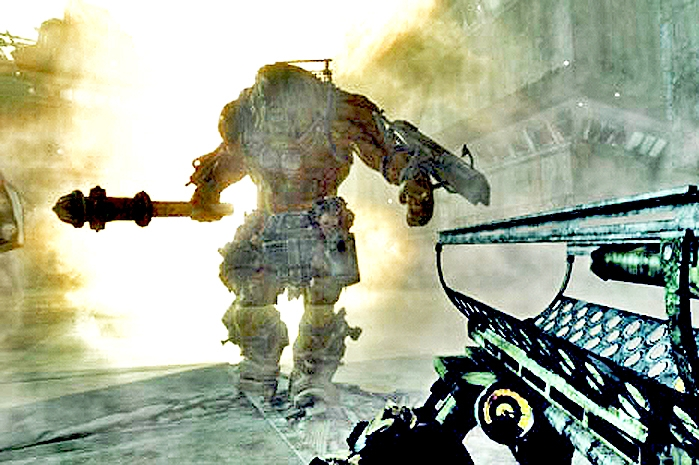 Fallout 3 Behemoth (detail)