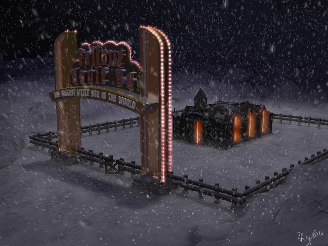 Winter Fallout BG Vault
