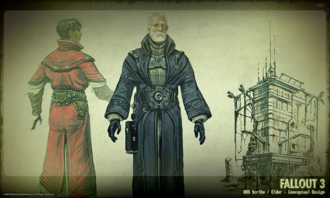 Brotherhood of Steel concept art