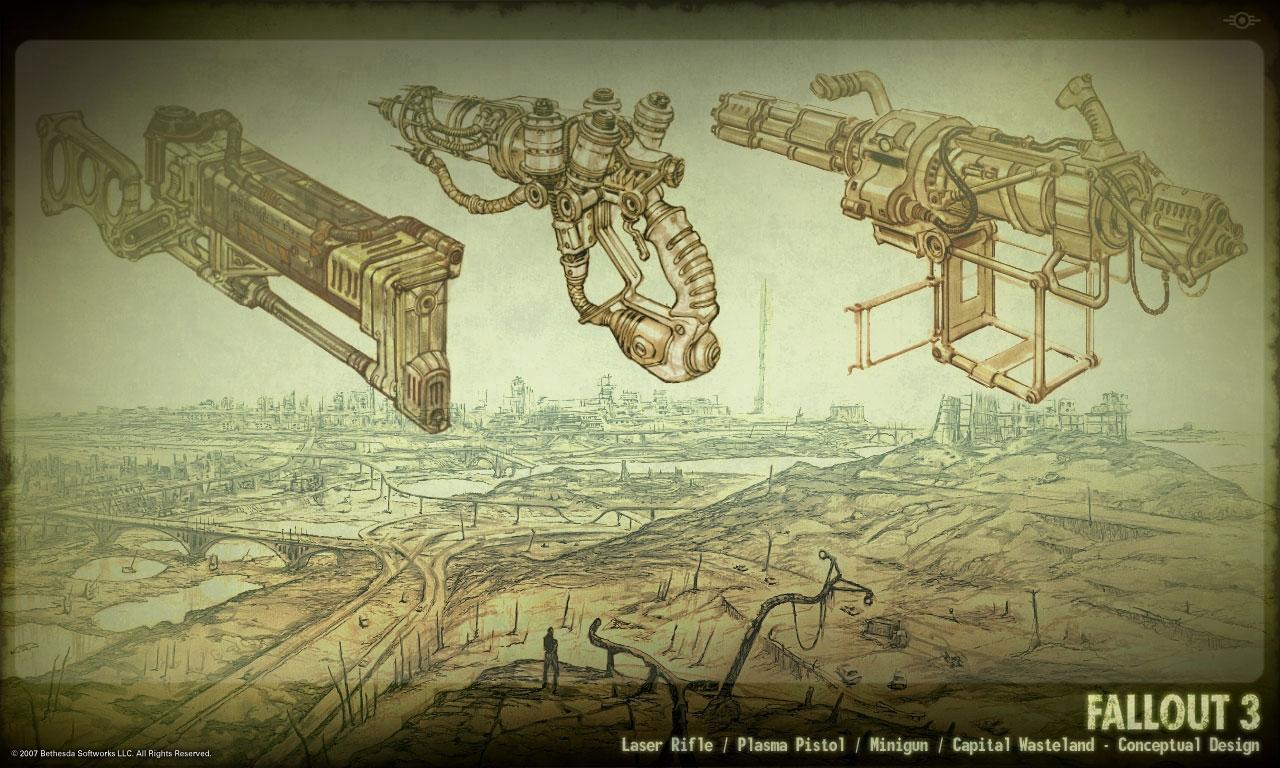 Brotherhood of Steel concept art