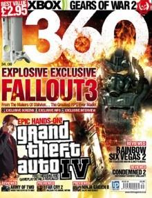 360 Magazine cover, issue 34