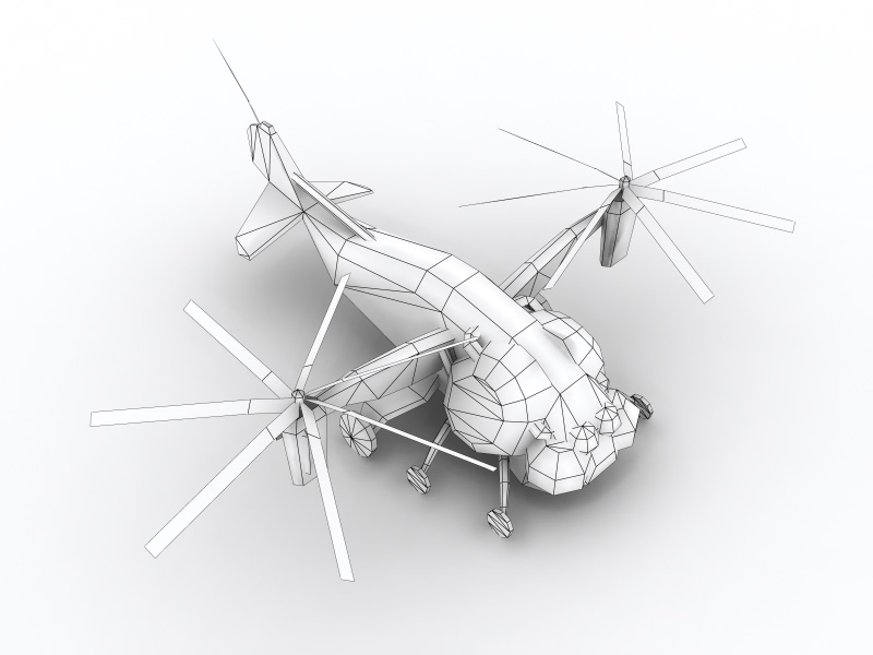 Vertibird 3D - wire